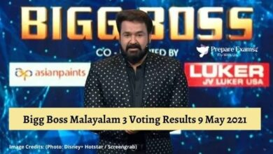 Bigg Boss Malayalam 3 वोटिंग परिणाम 9 मई 2021 | Bigg Boss Malayalam 3 Voting Results 9 May 2021 - NewsWebEra